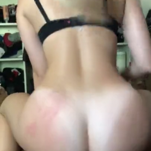 Sexy Blonde girlfriend Rides Big Black Cock